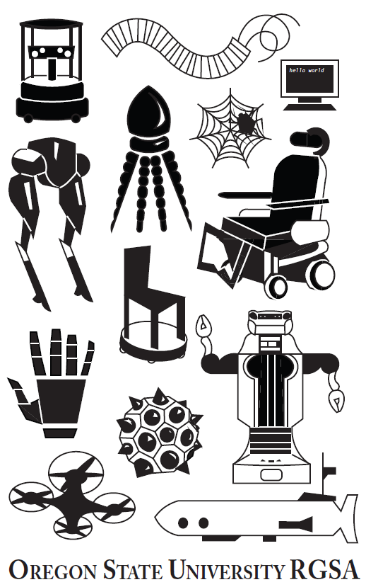 Image Design for Oregon State Robotics Graduate Student Association, 2018