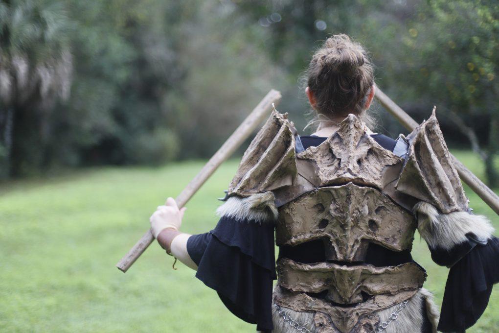 Dragonbone Armor from Skyrim, 2017