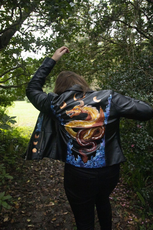 Hand-Painted Custom Jacket, 2018